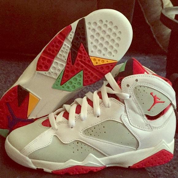 new concept 5d441 832ca Jordan Shoes - AUTHENTIC! Air Jordan 7 Retro Hare size 5Y